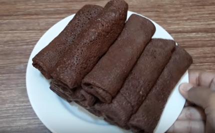 Resepi Kuih Dadar Gulung Pisang Coklat