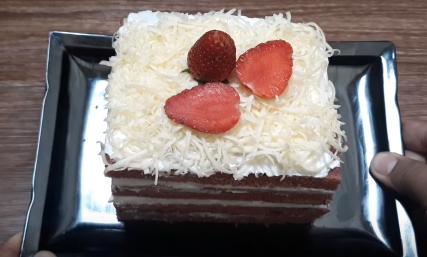 Resepi Cake Red Velvet Kukus