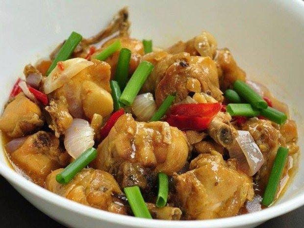 Resipi Ayam Masak Halia