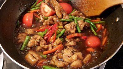 Ayam Masak Paprik Thai