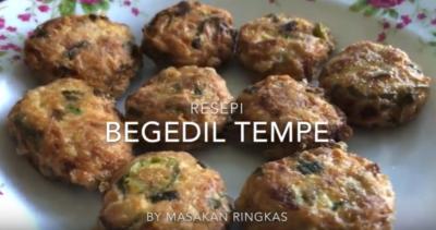 begedil tempe