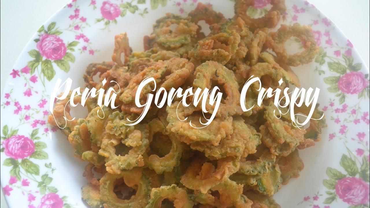Peria goreng crispy