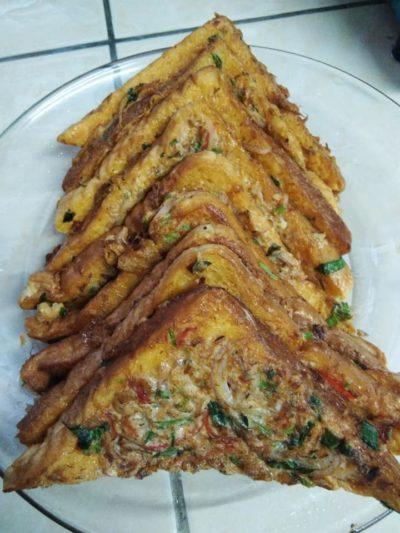 Roti Telur Sardin