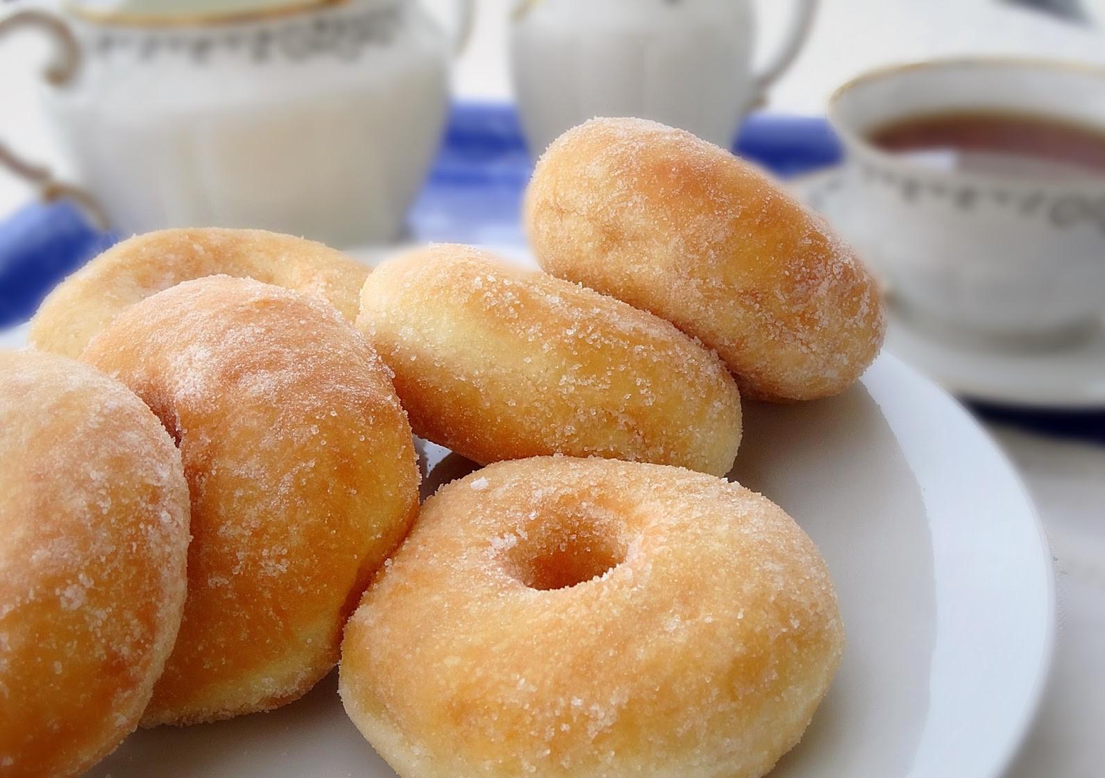 Donut Gebu dan Lembut - Daily Makan