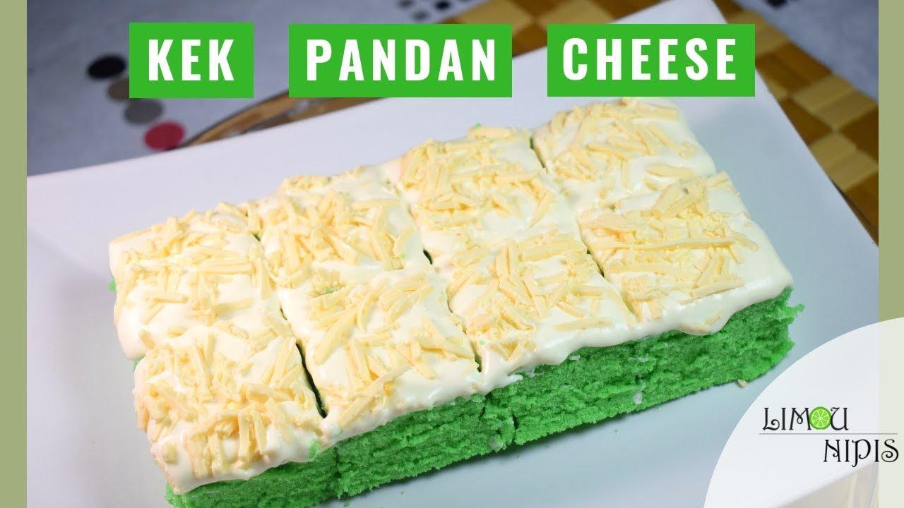 Kek Pandan Cheese