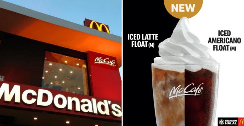 Iced Latte Float & Iced Americano Float