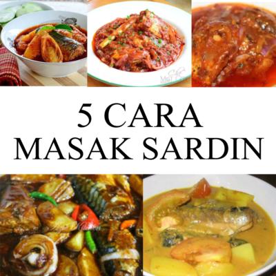 Cara Memasak Sardin