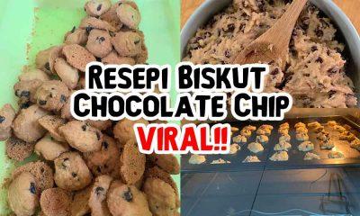 Resepi Biskut Chocolate Chip Ala Famous Amos