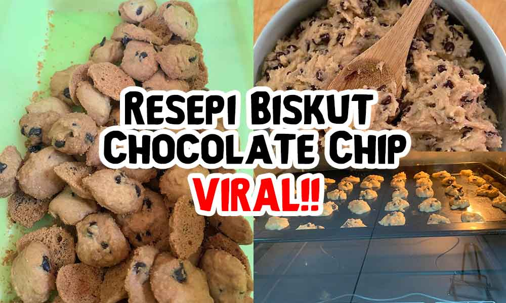 Resepi Biskut Chocolate Chip Ala Famous Amos 'Confirm ...