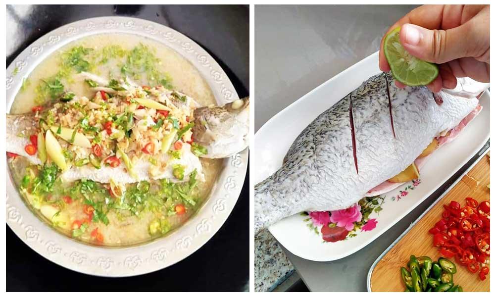 Wanita Ini Kongsi Resepi Ikan Siakap Stim Ala Thai Yang Menyelerakan Hingga Raih 8 6k Shares Daily Makan