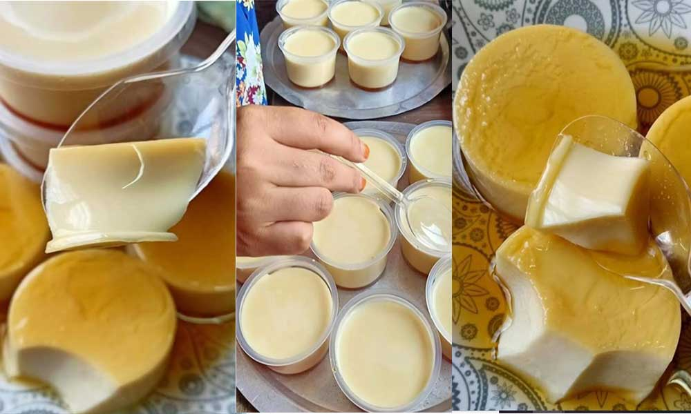 Cara Buat Puding Karamel Tanpa Telur Dan Kukus Yang Pasti Sedap Daily Makan