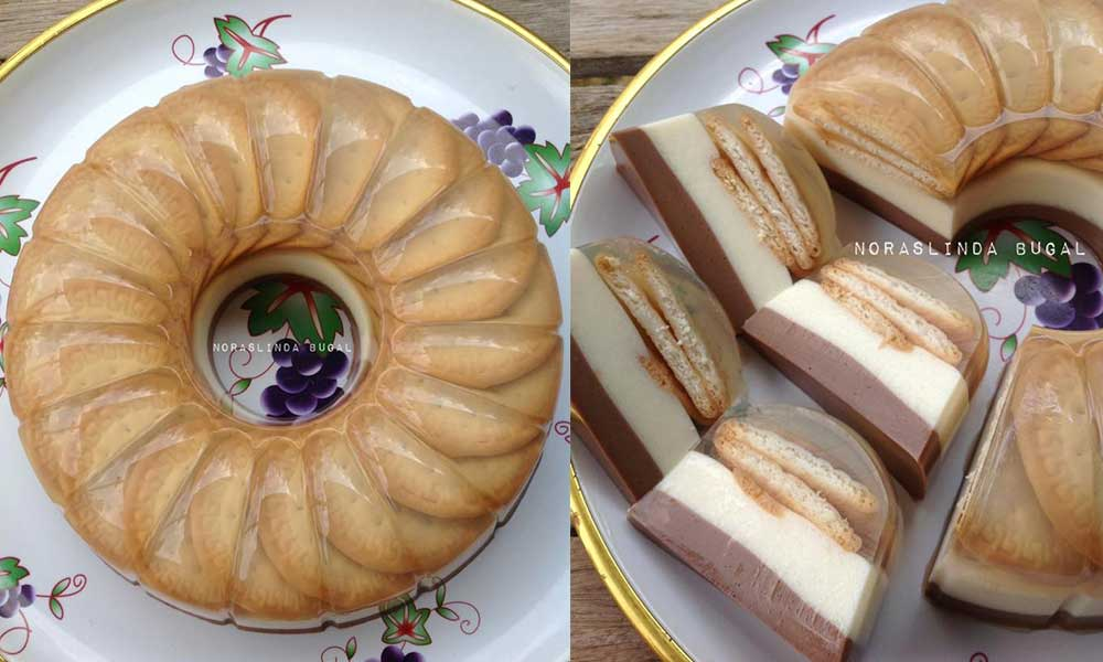 resepi kek batik marie oreo surasmi Resepi Kek Cawan Azie Kitchen Enak dan Mudah
