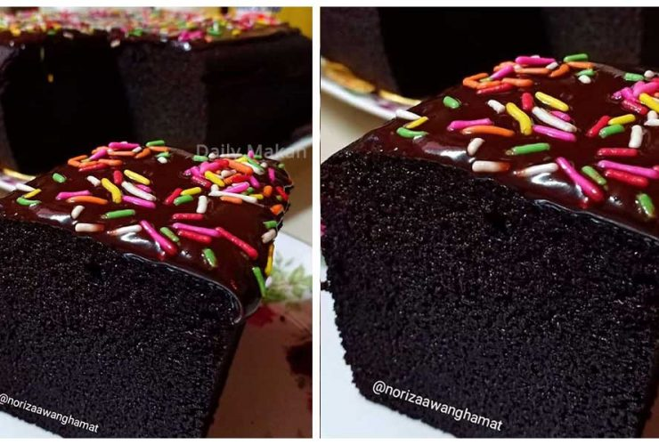 resepi brownies kedut sukatan cawan  mudah Resepi Kek Nestum Coklat Enak dan Mudah