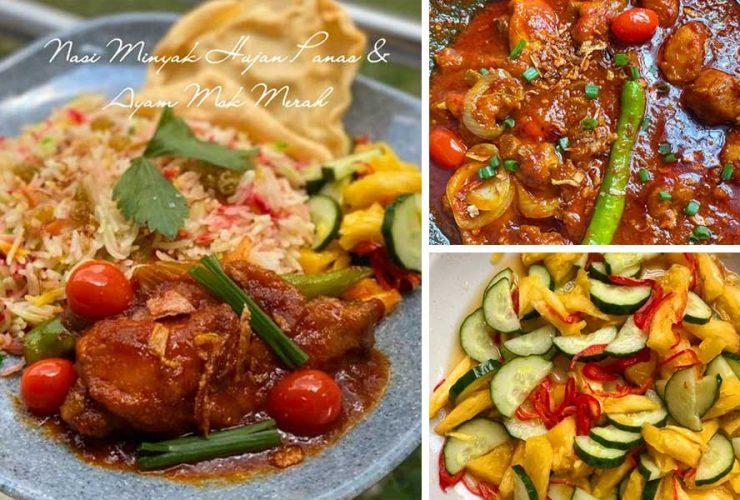lauk pauk daily makan Resepi Nasi Minyak Perak Enak dan Mudah